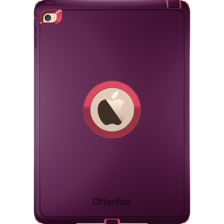 OtterBox iPad Air 2 Defender Crushed Damson Purple