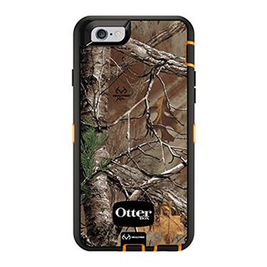 OtterBox iPhone 6/6S Defender Camo Realtree Xtra Orange/Brwn
