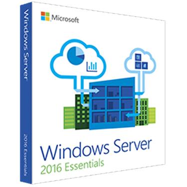 Windows Server 2016 Essentials 64 Bit 1-2 CPU