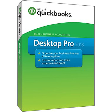 QuickBooks Desktop Pro 2018 1-User