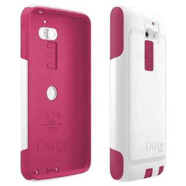 OtterBox LG G2 Commuter White /Peony Pink Papaya Commuter