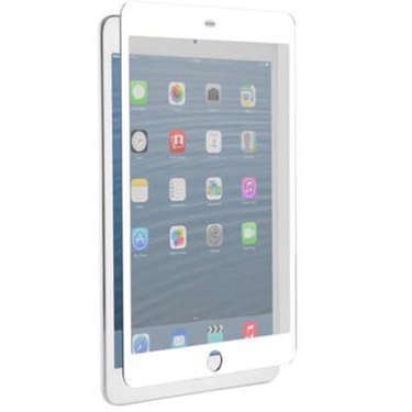 Nitro iPad Mini/Mini-R/Mini 3 Tempered Glass White Bezel