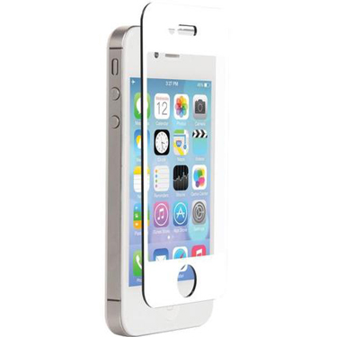 Nitro iPhone 4/4S Tempered Glass White Bezel