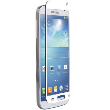 Nitro Galaxy S4 Tempered Glass White Bezel