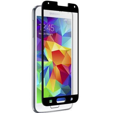 Nitro Galaxy S5/S5 Neo Tempered Glass Black Bezel