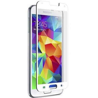 Nitro Galaxy S5/S5 Neo Tempered Glass White Bezel
