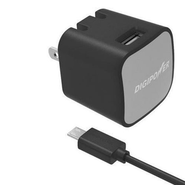 Digipower Wall Charger 2.4amp InstaSense w/5ft Micro Cable