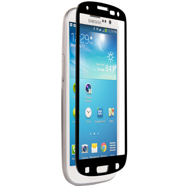 Nitro Galaxy S3 Tempered Glass Black Bezel
