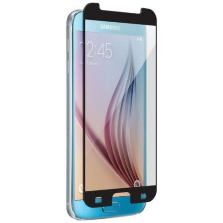 Nitro Galaxy S6 Tempered Glass Black Bezel