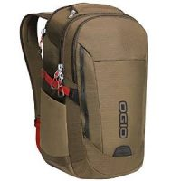 Ogio Backpack Ascent Pack 17in Khaki/Red