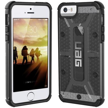 UAG iPhone 5/5S/SE Ash Grey Ash/Black