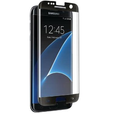Nitro Galaxy S7 Edge Tempered Glass Case Friendly - Black