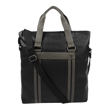 Buffalo Fold-Over Laptop Tote Melvin Collection 15.6in Black