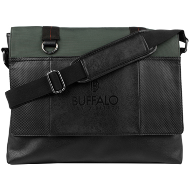 Buffalo Messenger Bag 15.6in Breaker Collection Khaki
