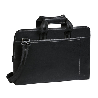 RivaCase 15.6in Laptop Bag Orly Black 8930