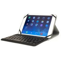 M-Edge Folio Plus Pro Keyboard for 9in-10in Tablets Black