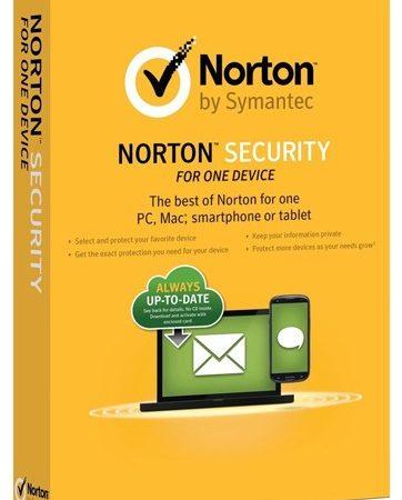 Norton Security 1-Device 1Yr BIL