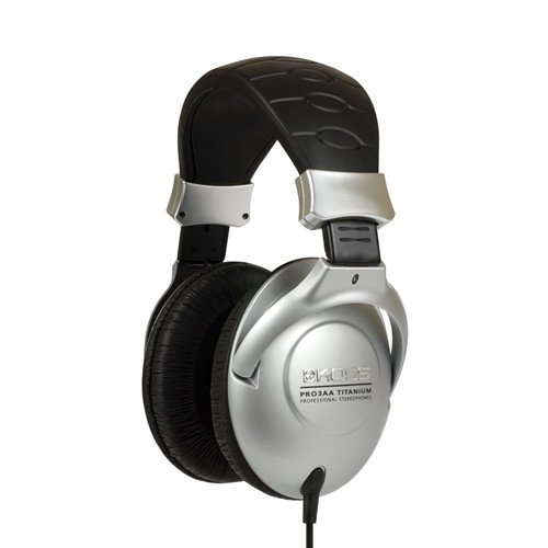 Koss Headphone Pro 3AA Full Size Studio Titanium