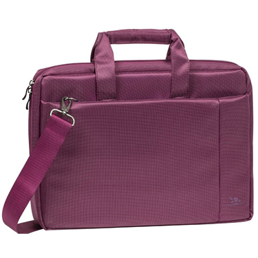 RivaCase 15.6in Laptop Bag Central Purple 8231