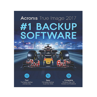 Acronis True Image 2017 Backup & Recovery BIL