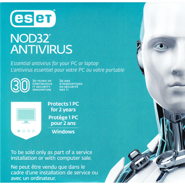 Eset Nod32 Antivirus OEM V11 1-User 2-Year Sleeve RTL