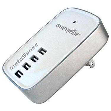 Digipower Wall Charger 4.2amp InstaSense 4 Port USB