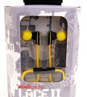 Ecko Lace 2 Earbuds w/Inline Mic Yellow