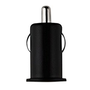 Colour Burst Car Charger 1Amp 1 USB Port Black