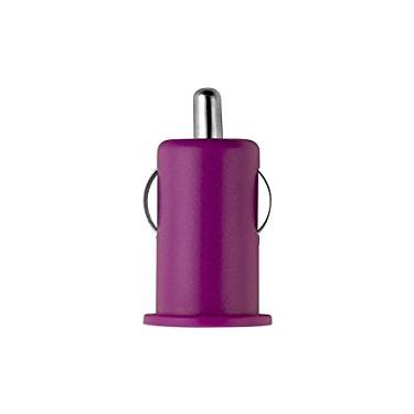 Colour Burst Car Charger 1Amp 1 USB Port Pink Pop