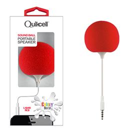 Colour Burst Sound Ball 3.5mm Portable Speaker Red Liquid