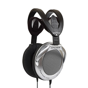 Koss Headphone UR40 Full Size Foldable Black/Silver