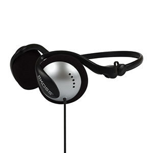 Koss Headphone Wraparound Collapsible Black/Silver
