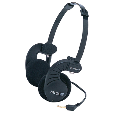 Koss Headphone SportaPro Portable Black