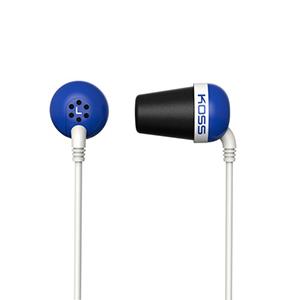 Koss Earbud Plug Memory Foam Noise Isolating Cushion Blue