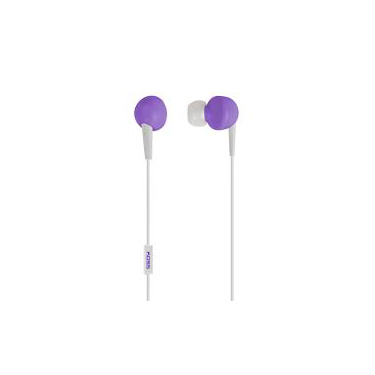 Koss Earbud KEB6 In Ear w/Enhanced Driver & Mic Violet