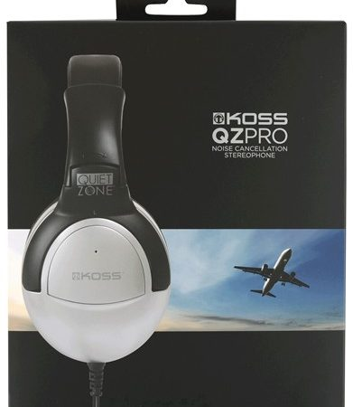 Koss Headphone QZPro Noise Cancelling Black/Silver