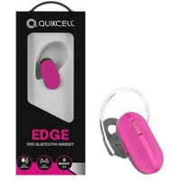 Quikcell Edge Mini Bluetooth 3.0 Headset Pink