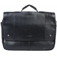 Kenneth Cole Flapover Computer Portfolio 16in w/Handle