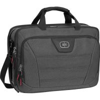 Ogio Laptop Bag Renegade Top Zip 17in Black Pindot