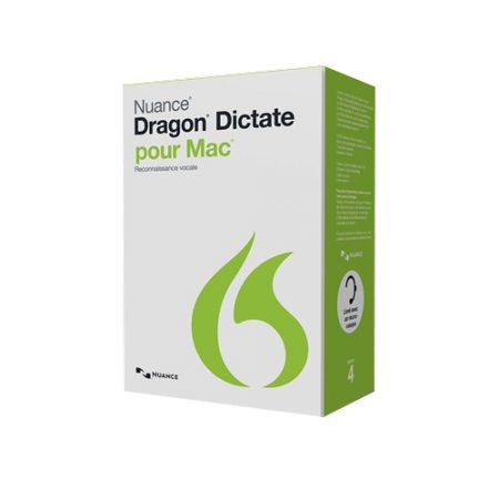 Dragon Dictate 4.0 pour Mac w/standard headset