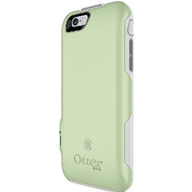 OtterBox iPhone 6/6S Resurge Powercase White/Green Mint Ice