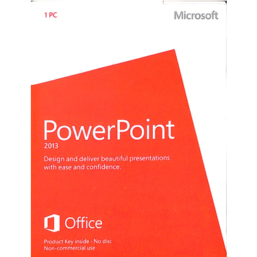 Microsoft PowerPoint 2013 Medialess PKC