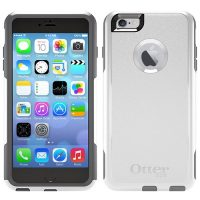 OtterBox iPhone 6+/6S+ Commuter White/Grey Glacier