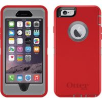 OtterBox iPhone 6/6S Defender Grey/Red Fire Within
