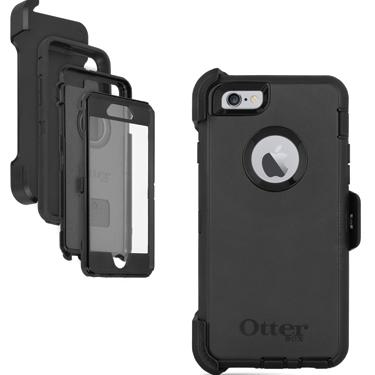 OtterBox iPhone 6+/6S+ Defender Black/Black