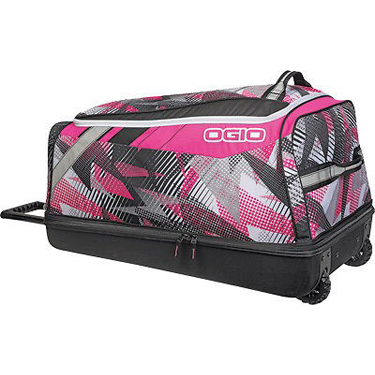 Ogio Luggage Shock Wheeled Bag Bolt Pink/Black