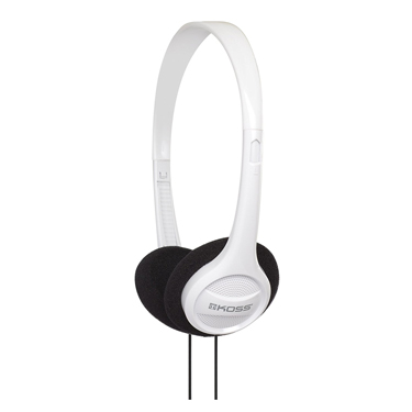 Koss Headphone KPH7 Portable On Ear White