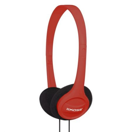 Koss Headphone KPH7 Portable On Ear Red