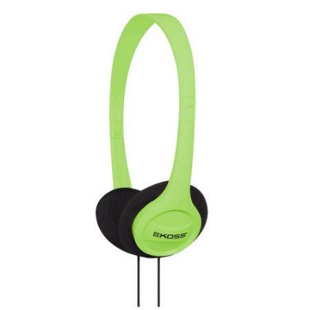 Koss Headphone KPH7 Portable On Ear Green