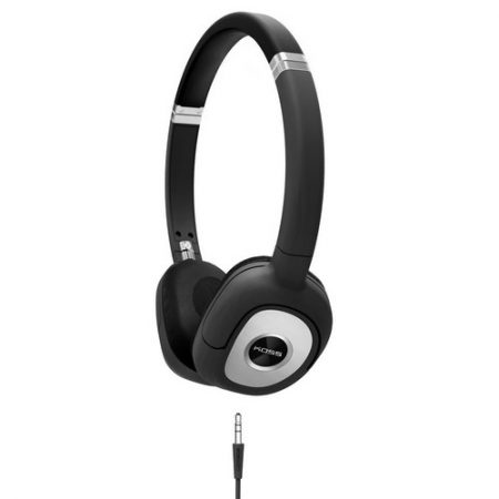 Koss Headphone SP330 Portable Dynamic Stereo Black Silver
